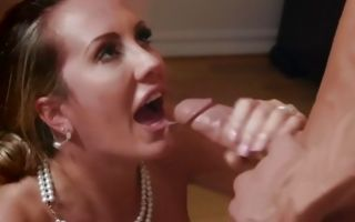 Fabulous Brett Rossi enjoying insane slamming