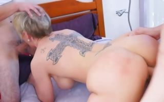 Rough threesome with naughty Dee Williams